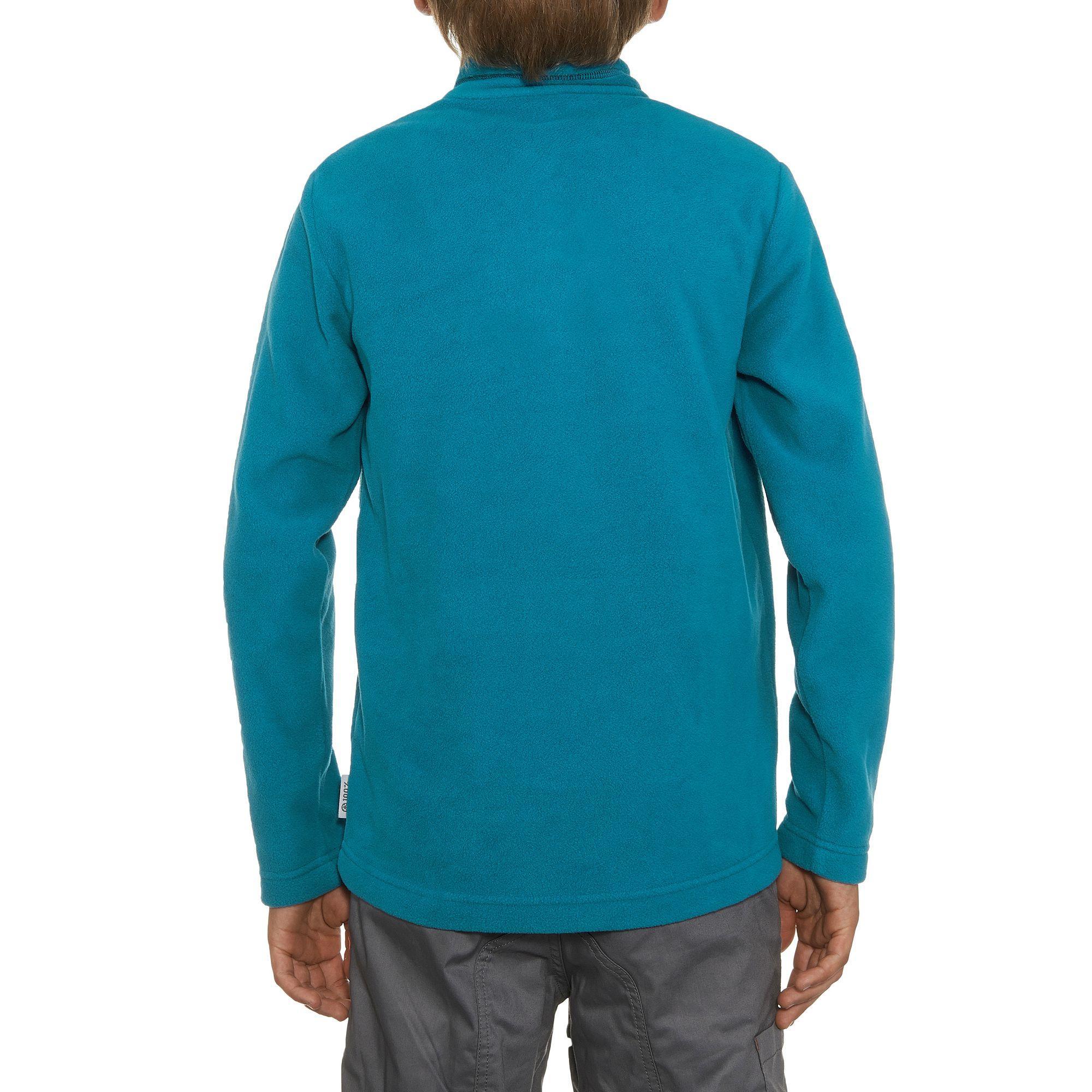 Polaire de randonnée RANDONNÉE 100 Garçon Bleu
