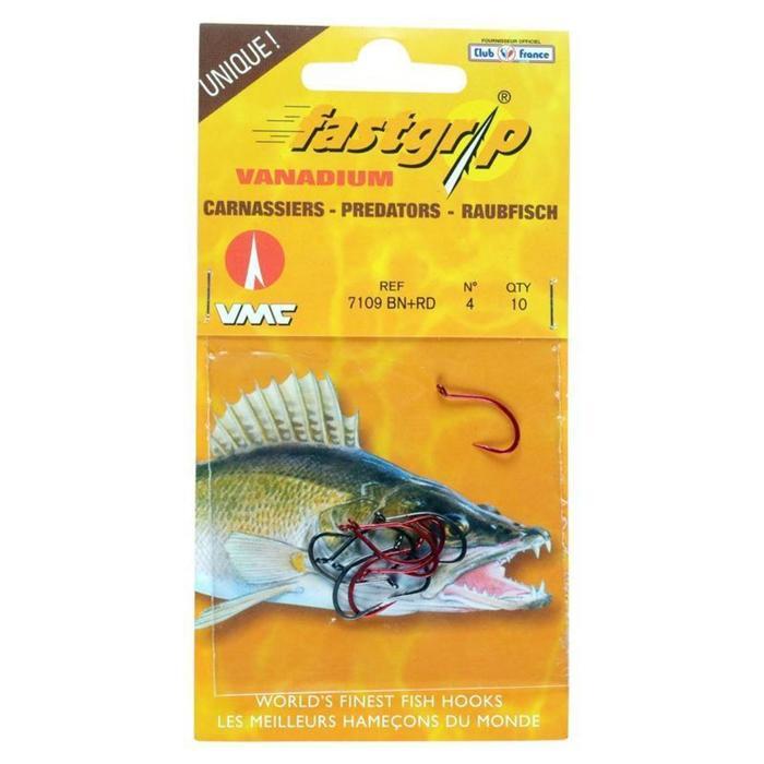 Haken voor het vissen op roofvis FAST GRIP 7109-BN