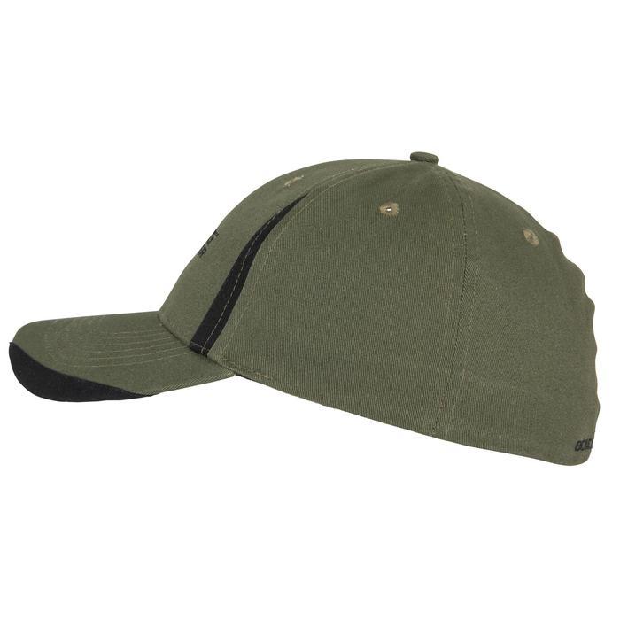 Gorra de caza Steppe Flex verde negro