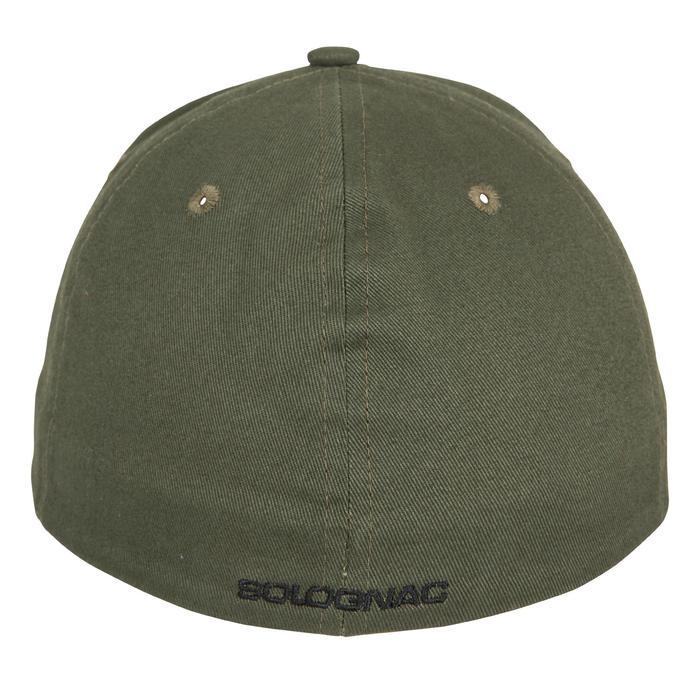 Jagd-Schirmmütze Steppe Flex grün/schwarz
