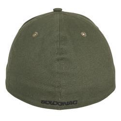 Schirmmütze Steppe Flex grün schwarz