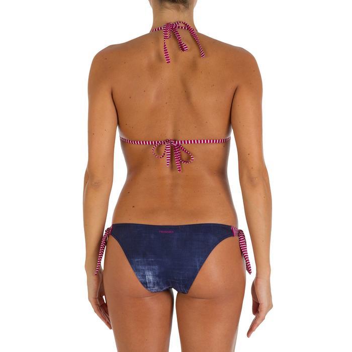 Haut de maillot de bain femme triangle coulissant MAE HONOLUA avec coques - 906304