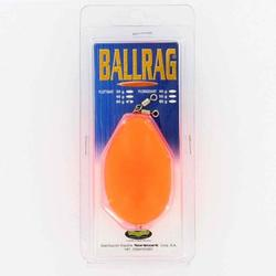 Ballrag zeevissen fluo-oranje 60 g.