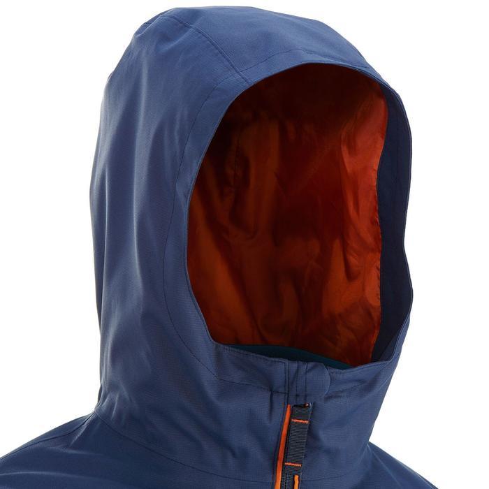 Veste chaude imperméable de randonnée Garçon Hike 500 3en1 - 907084