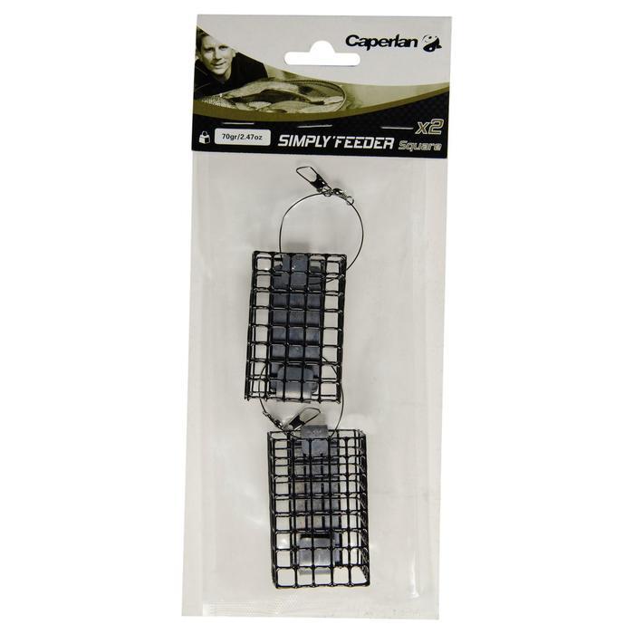 Accessoire pêche au feeder SIMPLY'FEEDER SQUARE X2 30 gr - 907308