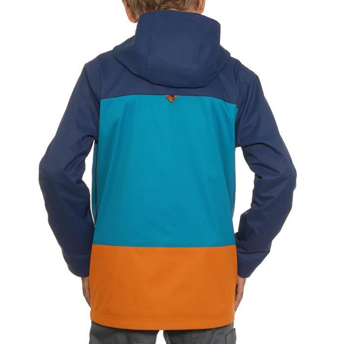 Veste chaude imperméable de randonnée Garçon Hike 500 3en1 - 907371