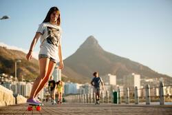 Cruiser skateboard Yamba blauw koraal - 90799