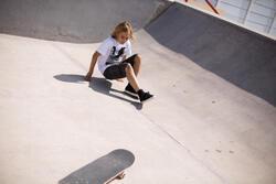 Skatebermuda kinderen longskate - 90806
