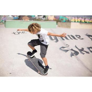 Bermudas skateboard junior LONGSKATE gris