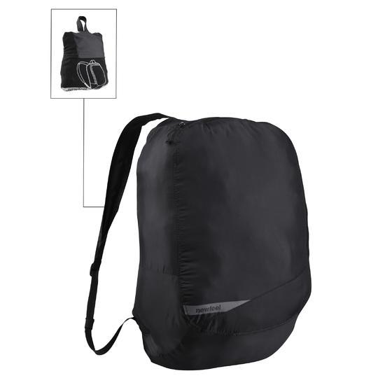 Kleine opvouwbare rugzak voor dagelijks gebruik Pocket Bag blauw met pijlen - 90816