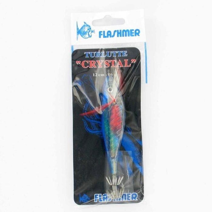Tintenfischköder Sepien/Kalmare Crystal 12 cm blau
