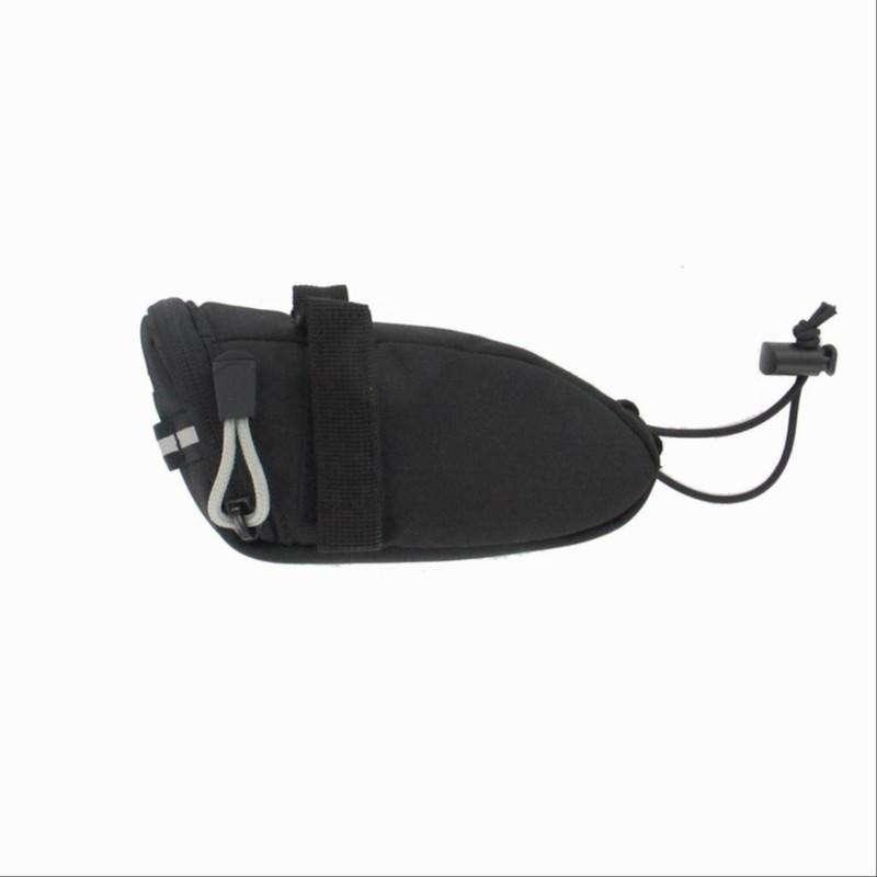 SADDLE BAGS - Bike Saddle Bag, Black - 0.4L B'TWIN