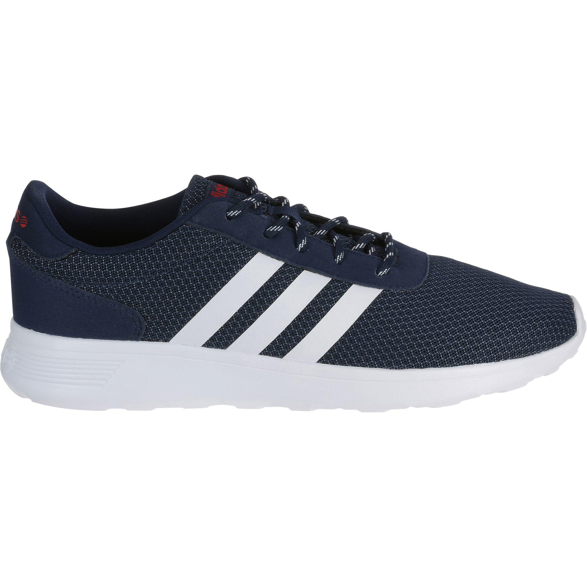Herensneakers Lite Racer blauw-wit