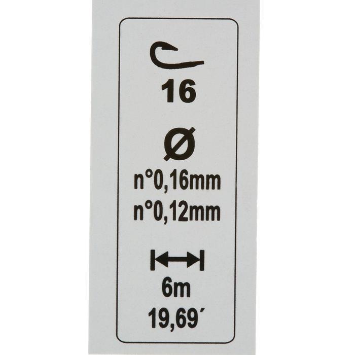 Gemonteerde lijn voor aashengels RL Pole Lakesee 0,6 g H16