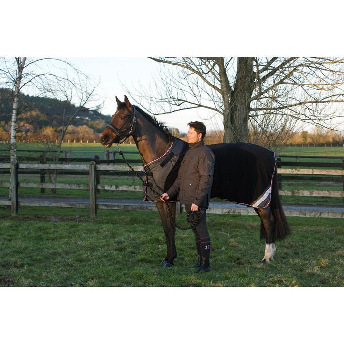 Chemise écurie équitation poney et cheval POLAR 800 noir / gris - 90865