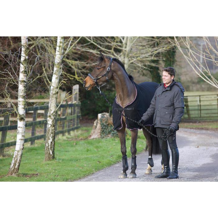 Abschwitzdecke Mikrofaser Pferd/Pony schwarz