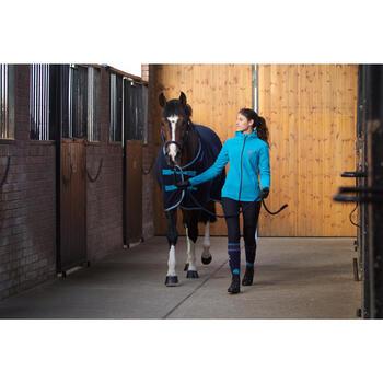 Chemise d'écurie équitation POLAR 500 marron -  poney et cheval - 90889