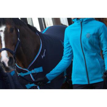 Chemise d'écurie équitation POLAR 500 marron -  poney et cheval - 90890