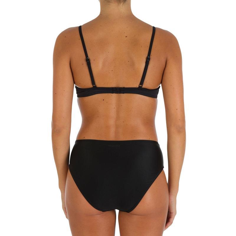 94dd9018b Haut de maillot de bain femme corbeille EFFY NOIR
