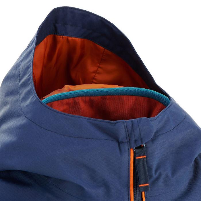 Veste chaude imperméable de randonnée Garçon Hike 500 3en1 - 909469
