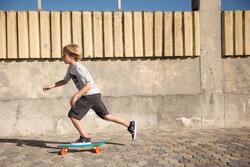 Cruiser skateboard Yamba blauw koraal - 90951
