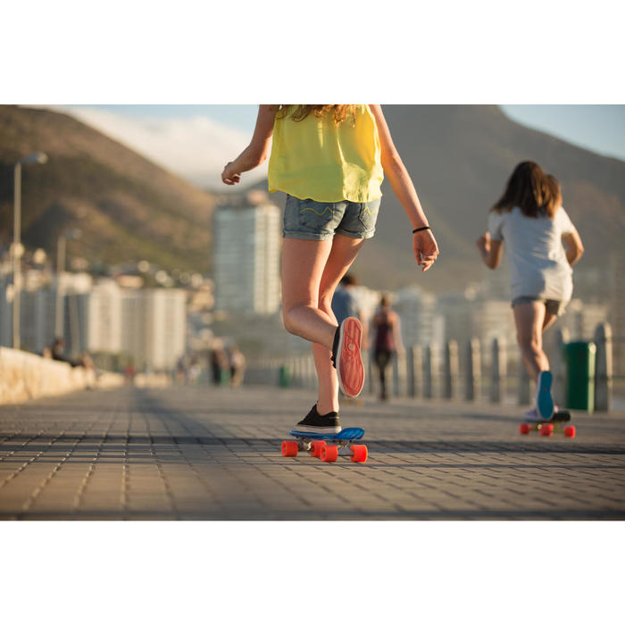 Chaussures basses skateboard-longboard adulte VULCA CANVAS L allover pois