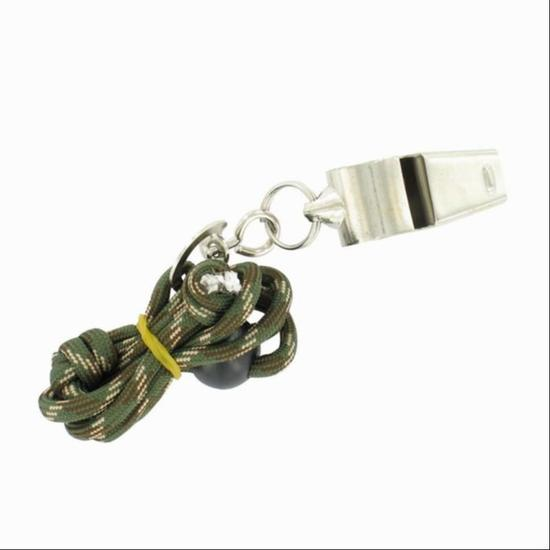 Metalen fluitje met wieltje - 910194