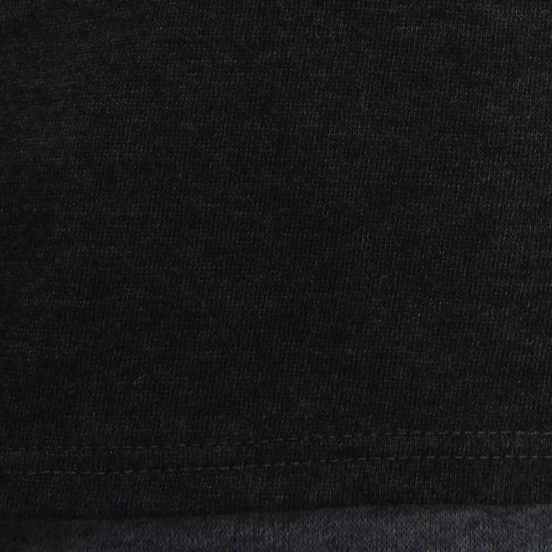 Tee shirt manches longues fille gym noir