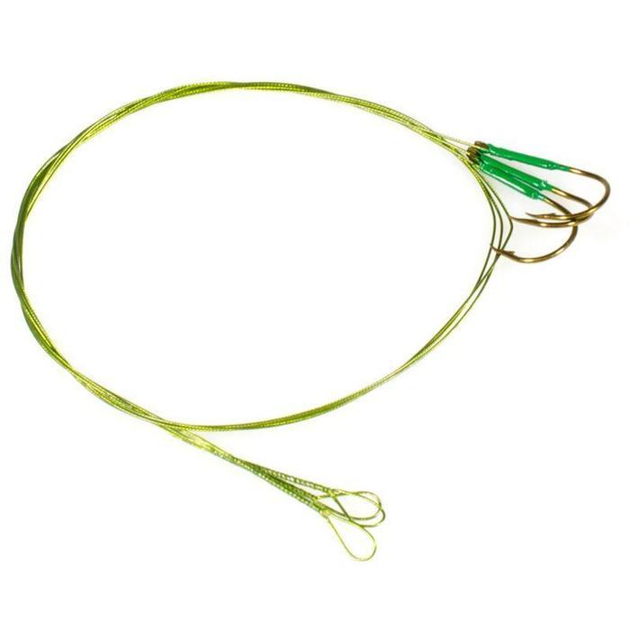 Avançon pêche carnassier RESIFIGHT 7 hameçon simple 12KG x3 - 910605