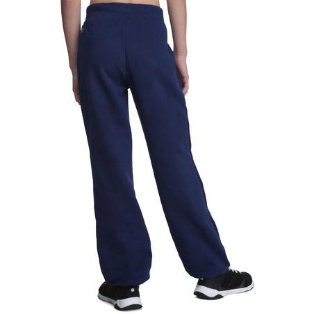 Girls' Brushed-Jersey Regular-Fit Bottoms - Blue