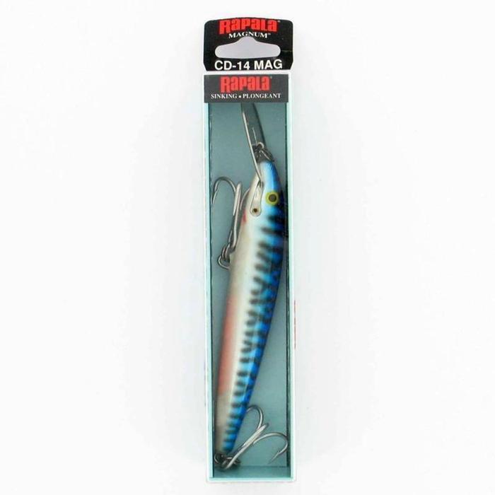 Leurre CD Magnum 14cm Silver mackerel pêche à la traine