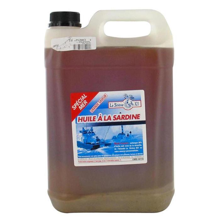 Sardinenöl 5 l, Anfüttermittel Meeresangeln
