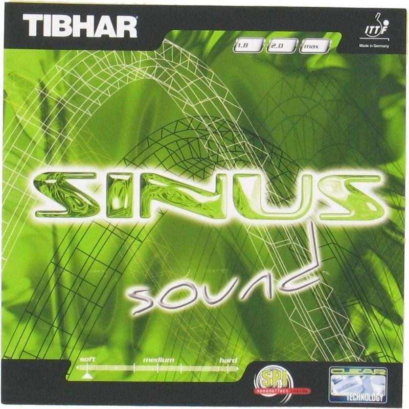 Tibhar Rubber voor tafeltennisbat Tibhar Sinus Sound