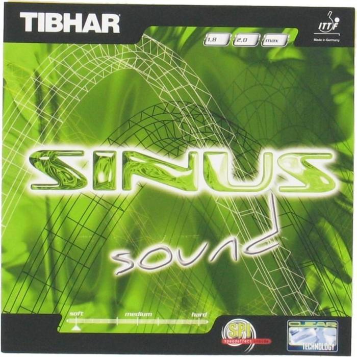 Rubber voor tafeltennisbat Sinus Sound