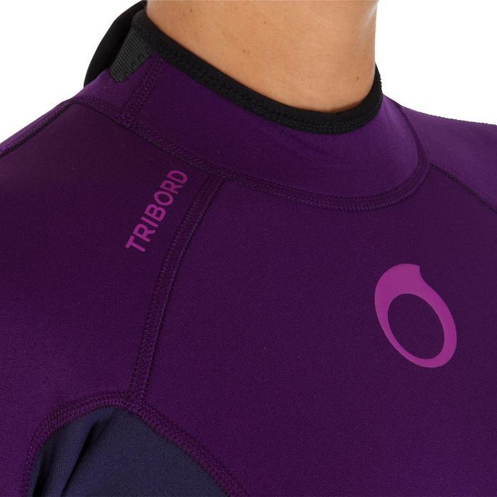 Combinaison SURF 100 Néoprène 2/2 mm Femme Violet - 911830