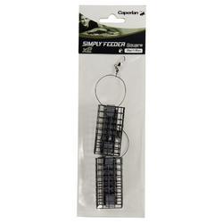 SIMPLY'FEEDER SQUARE X2 30 g feeder fishing accessory