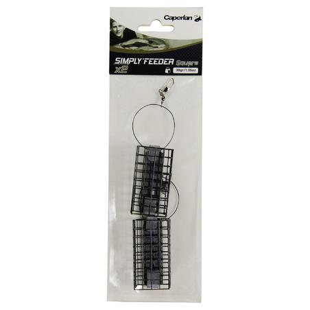 SIMPLY'FEEDER SQUARE X2 30 g feeder fishing accessory