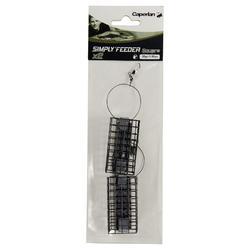 Accessoire feedervissen Simply'Feeder vierkant x2 30 g