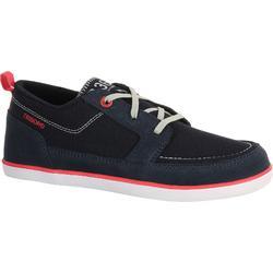 Zapatos náuticos para niños KOSTALDE azul oscuro