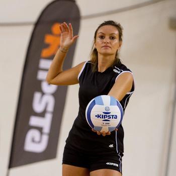Short de volley-ball femme Lady noir et - 912899