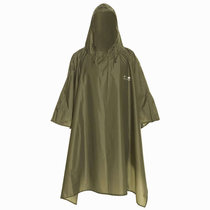 WATERPROOF CLOTHING Clothing  Accessories - Glenarm Hiking Poncho, Green SOLOGNAC - Clothing  Accessories