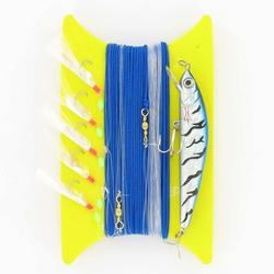 Línea de pesca de arrastre + pez nadador