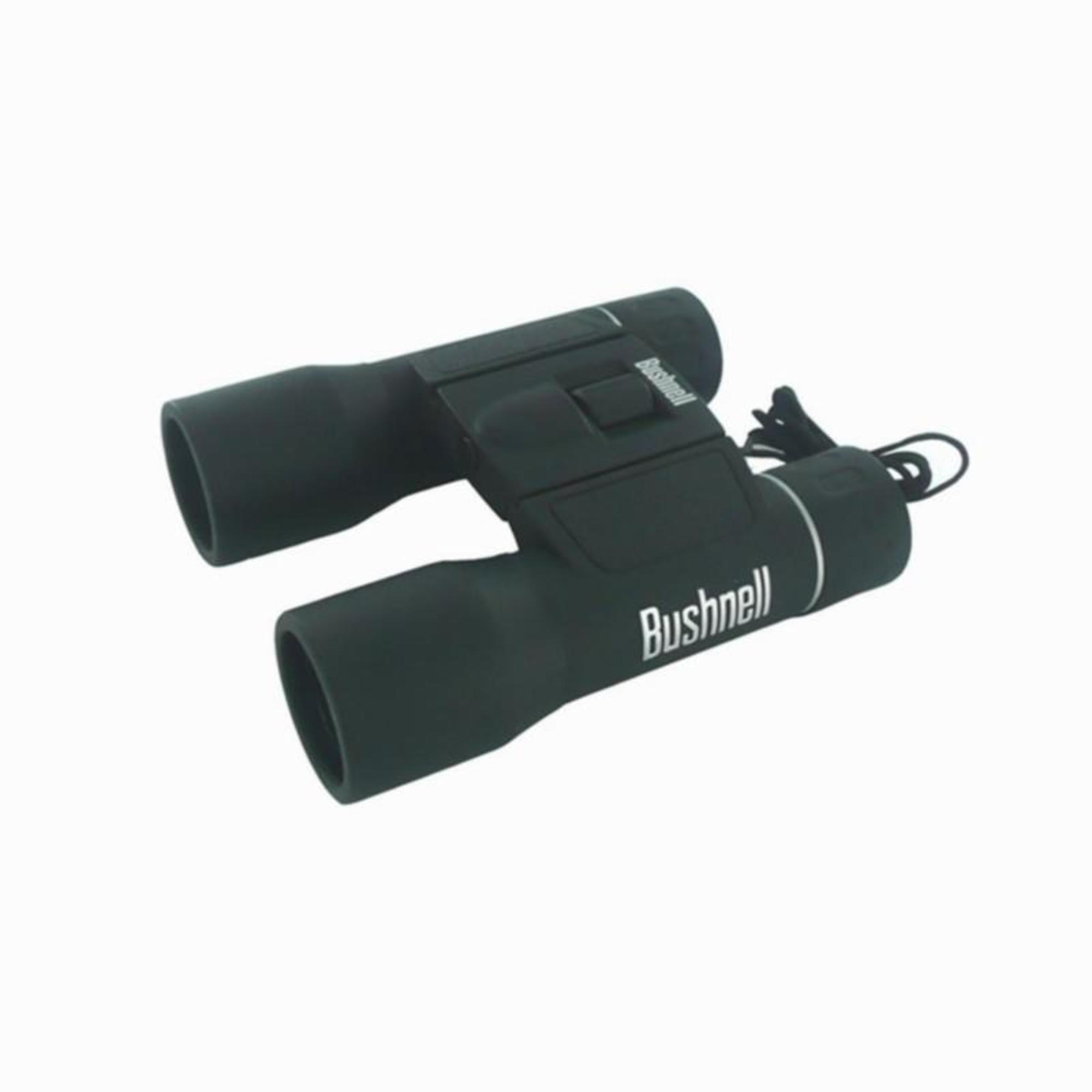 Jumelles randonnée adulte BUSHNELL POWERVIEW grossissement x12 noires - Bushnell
