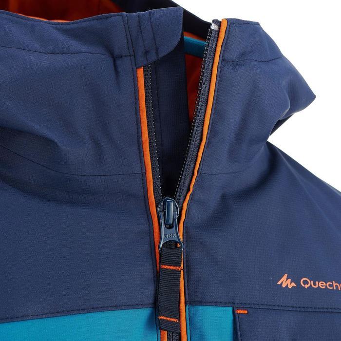 Veste chaude imperméable de randonnée Garçon Hike 500 3en1 - 915400