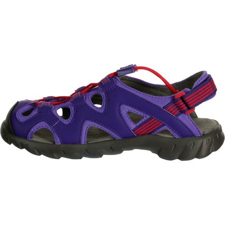 Arpenaz 200 Children's Hiking Sandals - Purple