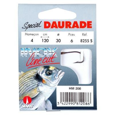 Hameçons pêche en mer MONTÉS DAURADE 8255S X6