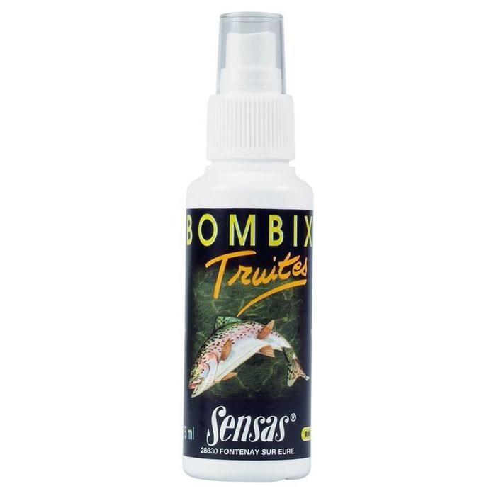 Lokmiddel voor forelvissen in vijvers met natuurlijk aas Bombix forel 75 ml