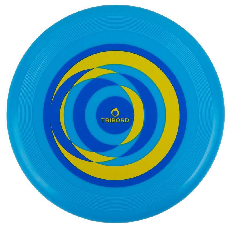 TALÍŘE / BUMERANGY - Frisbee D90 circle modré OLAIAN