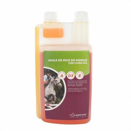 Voedingssupplement voor paarden levertraan - 1 l - 916462