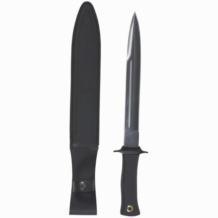 Dague lame 26 cm chasse Escorp noir